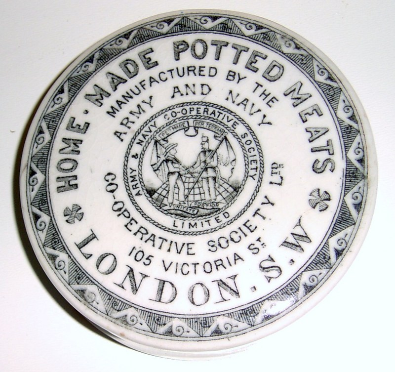 Army & Navy Co-operative Society Ltd. Home Made Potted Meats