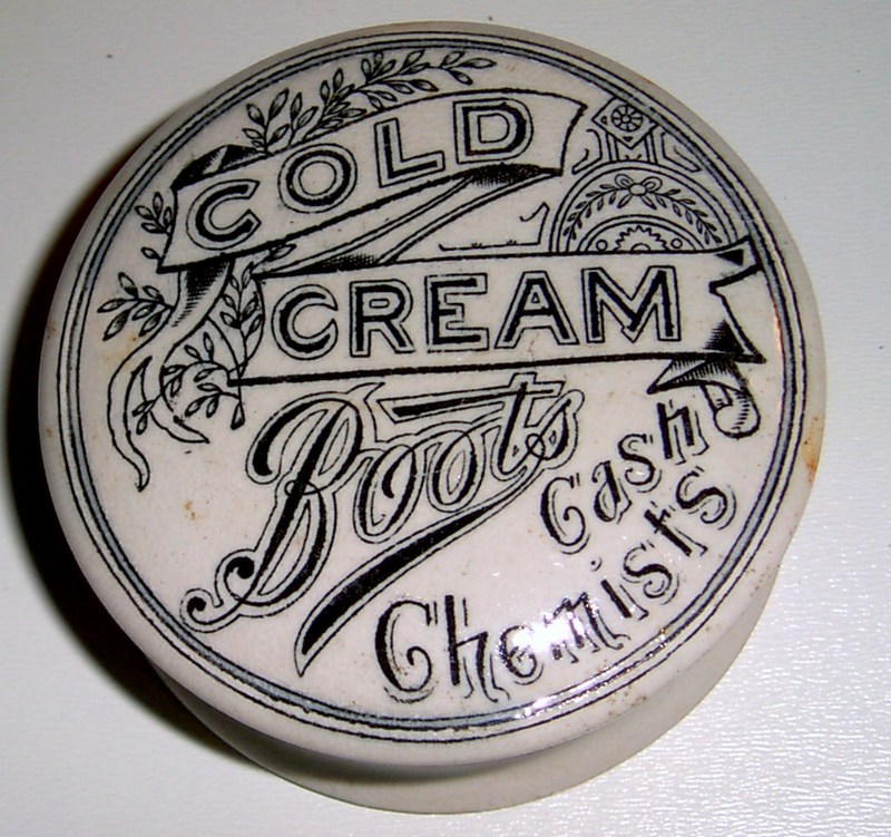 Boots Cash Chemists Cold Cream