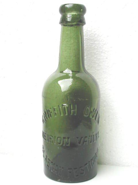 The Meirion Vaults, Blaenau beer